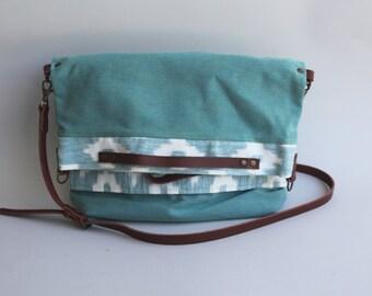 Foldover Bag Green