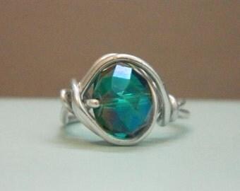 Sea Green Ring