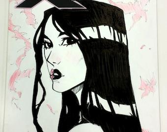 Psylocke Sketchcover