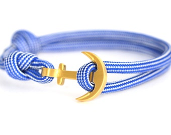 Anchor bracelet maritima / gold
