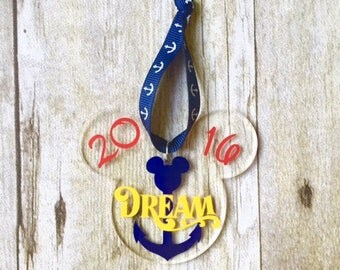 Disney Cruise Inspired Fish Extender Ornament