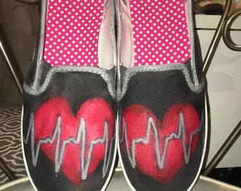 Ekg shoes