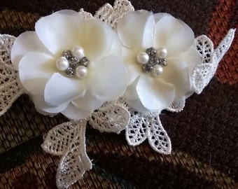 Vintage Style Flower Hair Clips