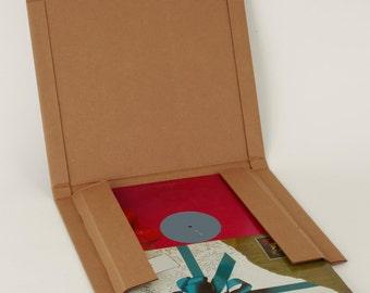 """12"""" LP Vinyl Record Protective Shipper"""