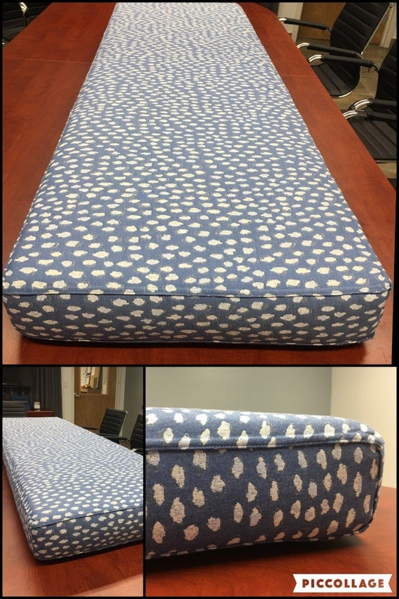 Quote For Custom Indoor Bench Cushion No Pillow By Circlevisualinc