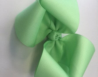 Lime Green Boutique Bow