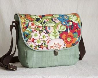 Shoulder bag flower