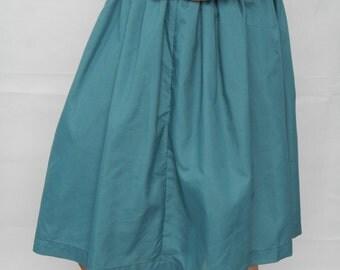 Summer skirt, very flared skirt,