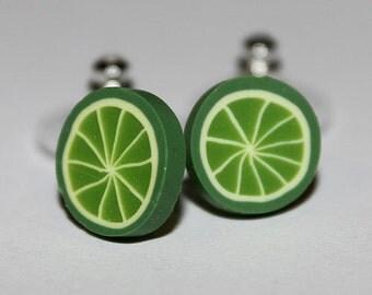 Kawaii Lime Studs