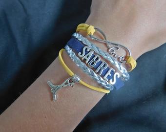 Buffalo Sabres Wrap Bracelet