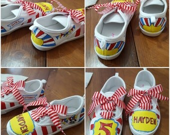 Custom Painted Children's TOMS