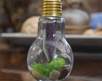 Antique Lightbulb Flower Garden (Artificial)
