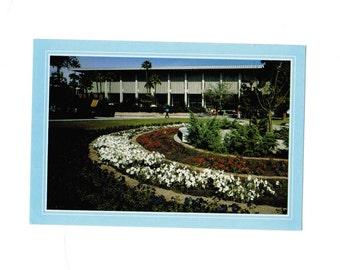 Vintage Hayden Library Arizona State University, Tempe, AZ postcard