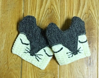 Fox Boot Cuffs, Crochet Boot Cuff, Boot Socks, Crochet Leg Warmers