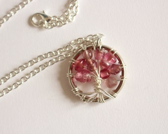 Tree of life pendant - Spring