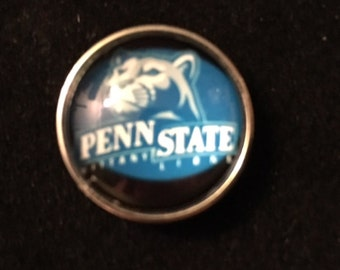 College Snaps - Penn State - fits all 18mm & 20mm Snap Jewelry