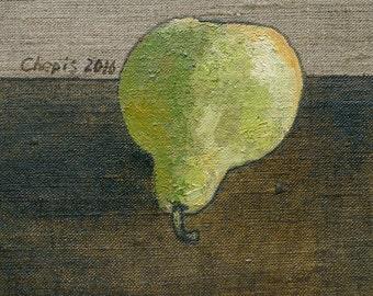 Big green pear