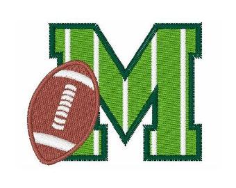 Football Field M - machine embroidery design