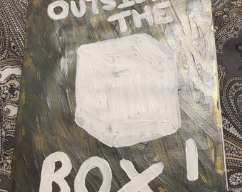 Think Outside The Box: Original, One-of-a-Kind Greetings Card