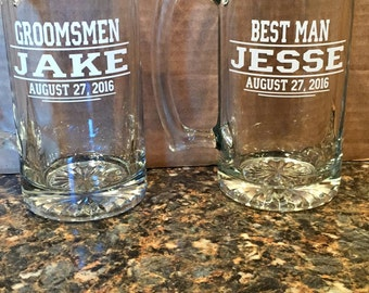 Custom Wedding Mugs