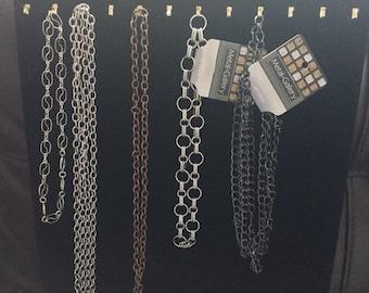 De-Stash Jewelry Making Chain Lot