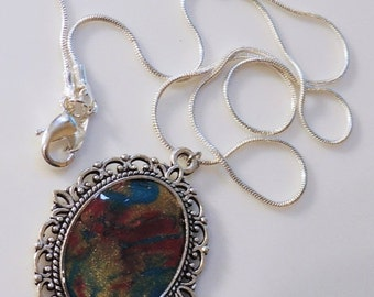 Sizzlin Summer Sale Artisan Created  Necklace Silver