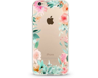 Flow Flowers Slim iPhone 6s case, Soft iPhone 6 case, iPhone case,
