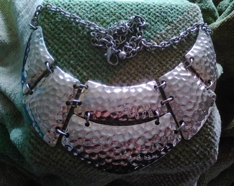 Costume silver plate neclace
