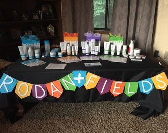 Rodan and Fields Banner | Skincare show | Beauty products | Rodan and Fields Party