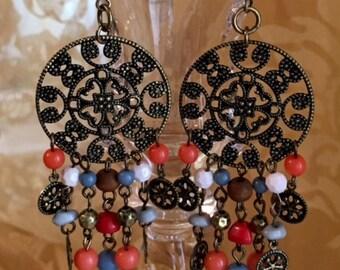 Bronze Plated Earrings