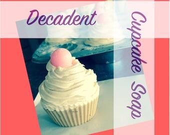 Decadent Cupcake Soaps