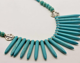 Turquoise Spikes