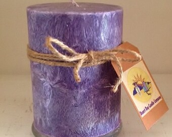 "5"" x 6"" Palm Wax Pillar Candle"