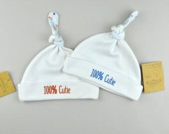 Baby Beanie, Baby Girl Hat, Baby Boy Hat, Baby Gift, Newborn Gift, Organic Cotton Beanie, Cute Baby Beanie, Cute Baby Hat, Soft Baby Hat
