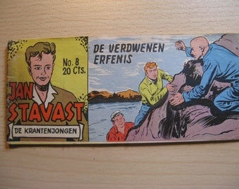 An old Lilliput comic book: Jan Saksena, the newspaper boy ... The missing legacy ... 1954
