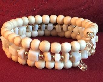 bone Wrap Bracelet