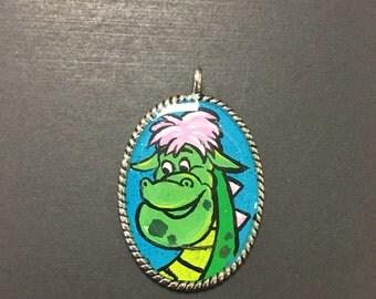 Petes Dragon inspired pendant