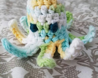 Adorably Angry Crochet Octopus