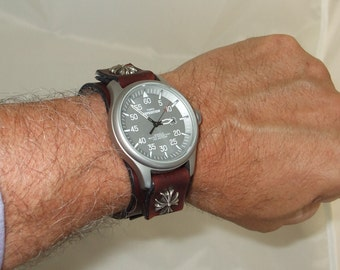 Practical Leather watchband