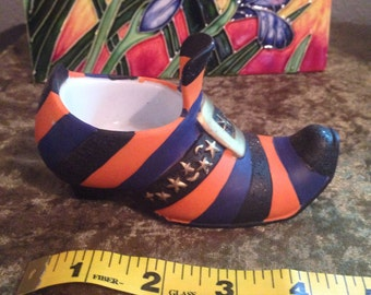 Witch's Shoe Votive Candle Holder