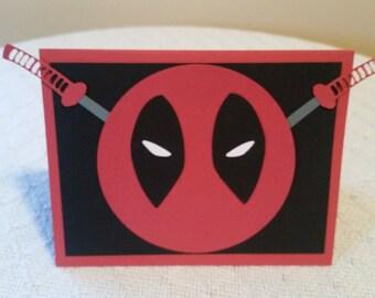 Deadpool Card