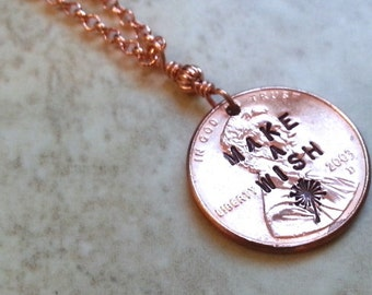 Customized  Penny Necklace