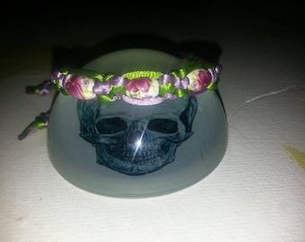 Handmade Macramme Bead Bracelet