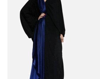Dubai colored caftan maxi abaya dress size large