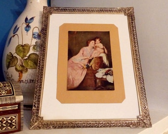 Frame without glass etsy - Picture frame without glass ...