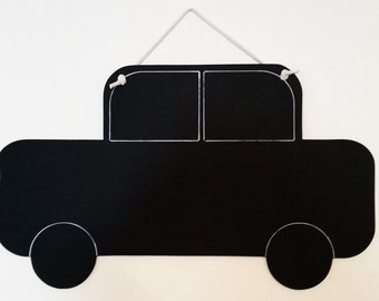 Hanging Car chalkboard