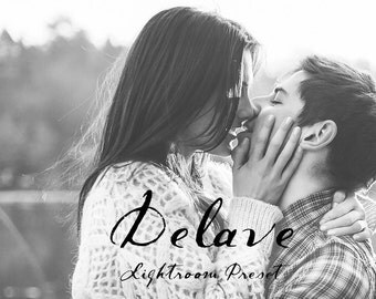 Delave Matted BW Lightroom Preset Professional Photo Editing for Portraits, Newborns, Weddings By LouMarksPhoto
