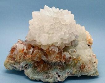 Massive Globular Agate Quartz Crystal Cluster – 2148g