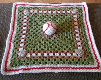 Baseball Lovey Blanket