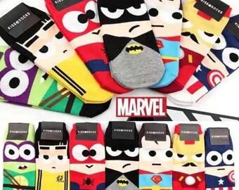 Marvel Socks Womens